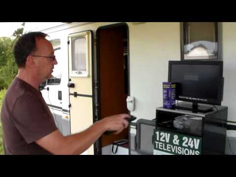 Demo of Falcon ANT536 Freeview DVB-T Digital TV Antenna