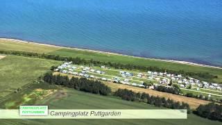 Flug über das Camping-Paradies Ostsee-Insel Fehmarn