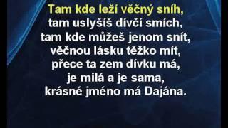 Dajána - Milan Chladil Karaoke tip