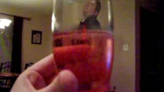 Erik swimming in Champagne