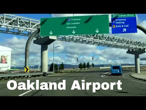 8 Minutes Oakland (OAK) California Airport Driving Direction