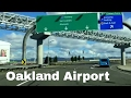 8 Minutes Oakland (OAK) California Airport Driving Directions