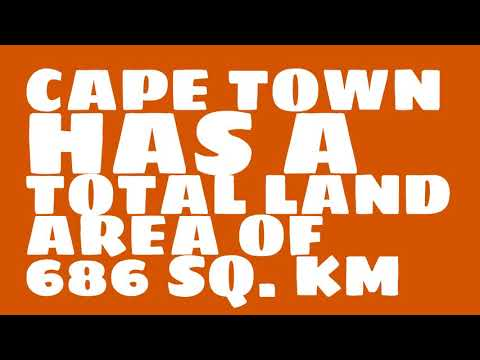How does the population of Cape Town rank?