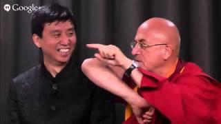"""Chade-Meng Tan et Mathieu Ricard : conférence """"Connectez-vous à vous-même"""""""
