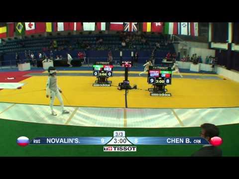 Shanghai 2015 WF GP T64 18 green Novalinska K RUS vs Chen B CHN