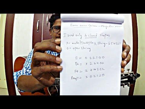 How To Play Enna Naan Seiven   Meyaadha Maan   Part-2   Pradeep Kumar   Isaac Thayil   Guitar Lesson