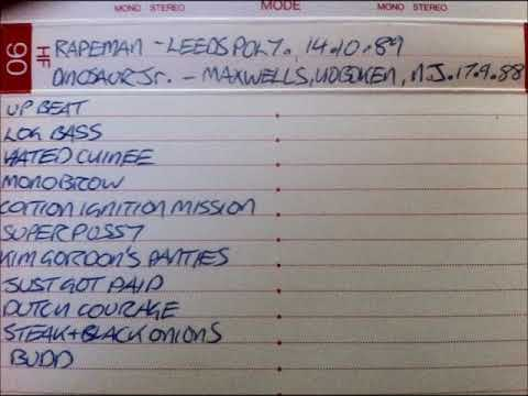 Rapeman Live at Polytechnic, Leeds, October 14, 1988 mp3