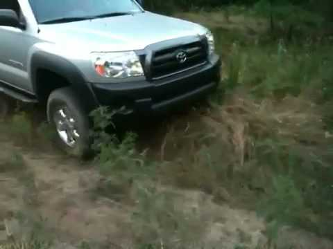 Stock Tacoma 4x4 Articulation Test