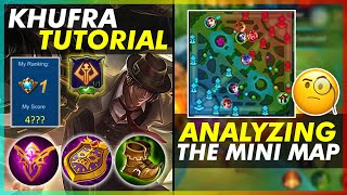 TOP 1 PH KHUFRA TUTORIAL | HOW TO ANALYZE THE MAP AND COUNT THE ENEMY HEROES
