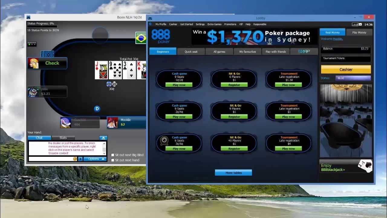 Online poker free fake money