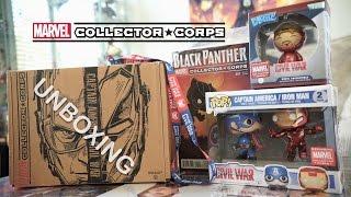 Marvel Collector Corps - Civil War - Первый Мститель: Противостояние