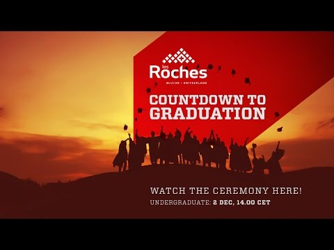 Undergraduate Graduation Ceremony Live Streaming - Les Roches Global Hospitality Education