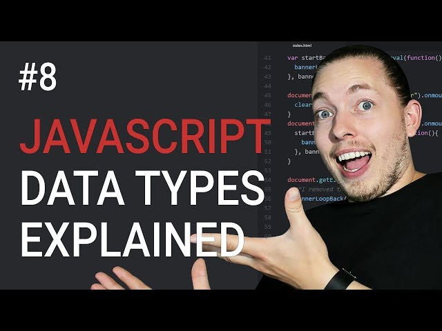 8: Different Data Types in JavaScript | JavaScript Tutorial | Learn JavaScript | mmtuts