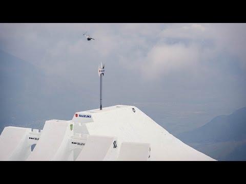 David Wise - World Record - Highest Freeski Air On A Hip At Suzuki Nine Knights 2016