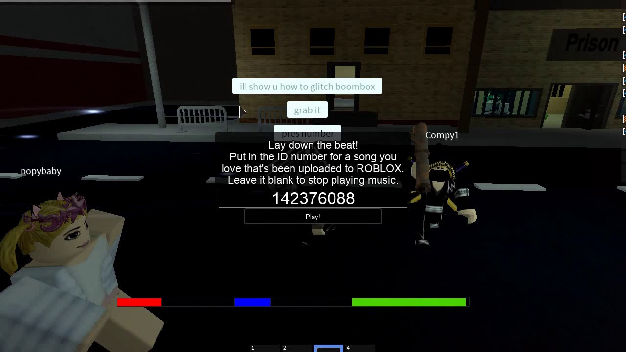 how to put music on roblox game