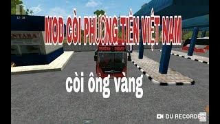 hướng dẫn Mod còi phương tiện việt nam Bus simulator Indonesia 2.9