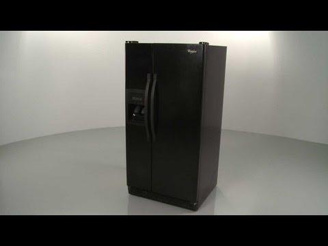 Whirlpool Refrigerator Disassembly ED2KVEXVB01
