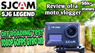 Sjcam SJ6 Legend Sj6 legend detail Review OFF Roading Test Sj6 legend Video Sample