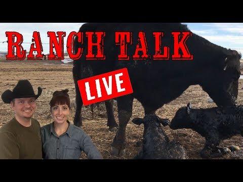🔴LIVE - Ranch Talk 3-15-2018