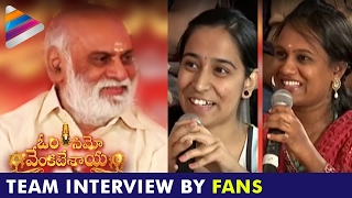 Om Namo Venkatesaya Movie Team Interviewed by Fans | Nagarjuna | Anushka | Pragya | Raghavendra Rao