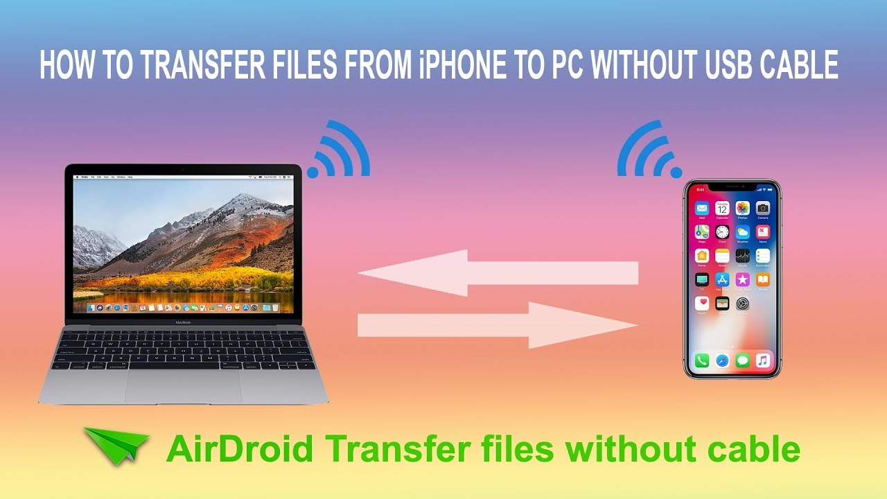 How To Transfer Photos From Iphone To Pc Without Usb Cable