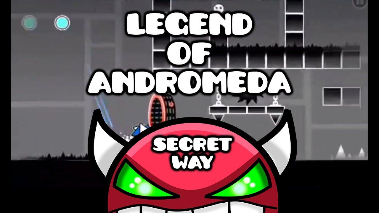 Legend Of Andromeda (Secret Way Demon) by JS Legend   Geometry Dash
