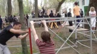 Паркур  фестиваль в Ростове-на-Дону