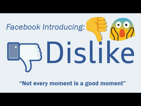 Facebook Messenger To Add 'dislike' Button.