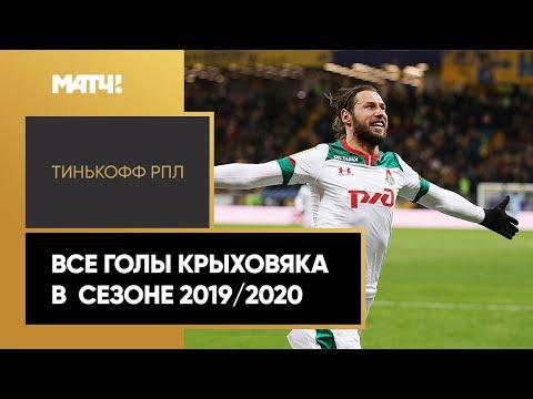 Все голы Гжегожа Крыховяка в сезоне 2019/2020 Тинькофф РПЛ