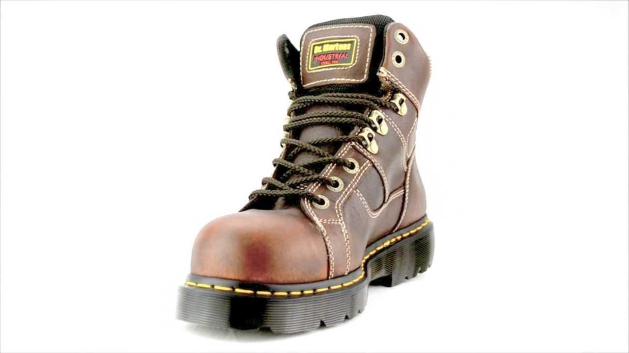 Men's Dr Martens R13400200 Extra Wide Steel Toe Work Boot @ Steel ...