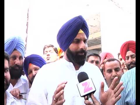 Bikram Singh Majithia's Interview with Zee Media in Amritsar