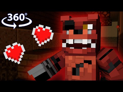 Five Nights At Freddys 4 - Minecraft 360° Roleplay