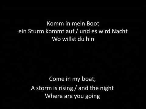 Seemann lyrics german english Rammstein
