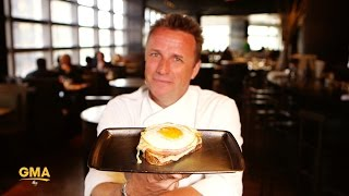 How to make Chef Marc Murphy's croque madame