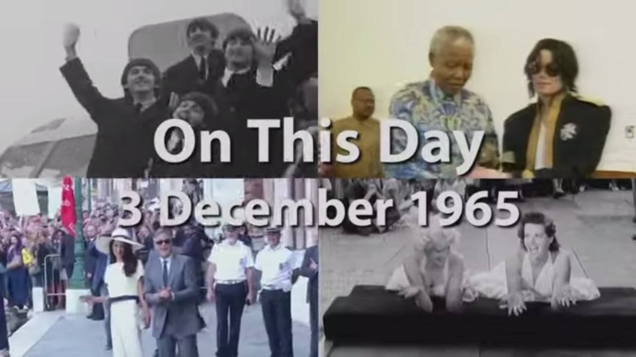 On This Day: 3 December 1965