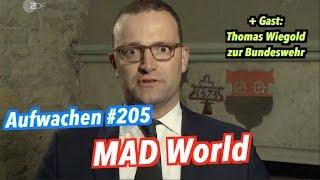 Aufwachen #205: Versagen der SPD, Chomsky & Gast: Thomas Wiegold zur Bundeswehr