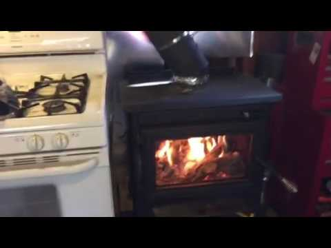 Gas Woodstove with Garage Heater