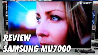 Review Samsung MU7000 - MU7005 Television 4K UHD HDR Smart TV 2017