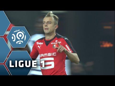 Goal Kamil GROSICKI (75') / Stade Rennais FC - Girondins de Bordeaux (2-2) - (SRFC - GdB) / 2015-16
