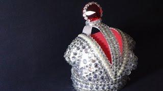 как сделать корону из пластиковой бутылки