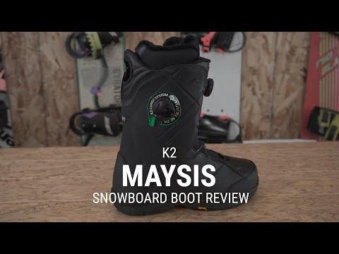 K2 Maysis 2019 Snowboard Boot Review - Tactics