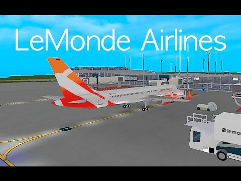 ROBLOX | LeMonde Airlines Boeing 757-200 Flight