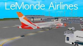 ROBLOX | LeMonde Airlines Boeing 757-200 Flight