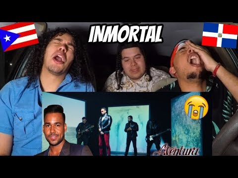 Aventura - Inmortal   REACTION REVIEW