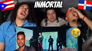 Aventura - Inmortal (Official Video) REACTION REVIEW