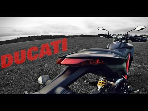 Ducati Hypermotard 821 обзор и тест-драйв мотоцикла