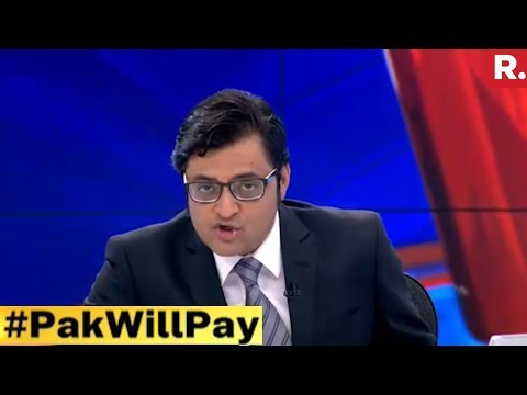Is This The Strongest Message Ever? #PakWillPay | The Debate With Arnab Goswami