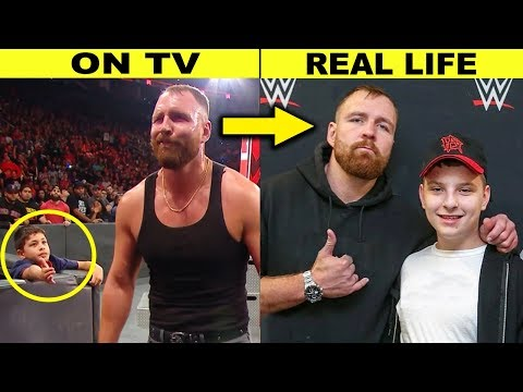 10 WWE Wrestlers Nicer Than You Thought in Real Life - Dean Ambrose Out of Character