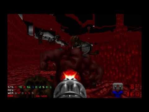 Doom 2 Going Down Level 26 UV with 103% in 9:44 (Insane)