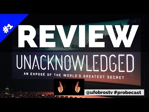 """Review of """"Unacknowledged' by Dr. Steven Greer! We Were There!"""